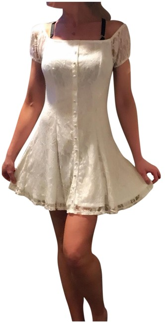 Preload https://item3.tradesy.com/images/love-fire-white-off-the-shoulder-lace-by-short-casual-dress-size-8-m-23340457-0-1.jpg?width=400&height=650