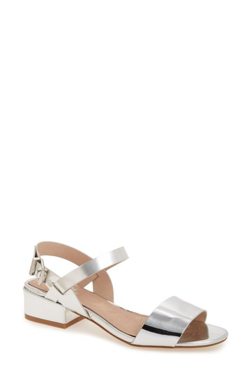 Shellys London silver Sandals