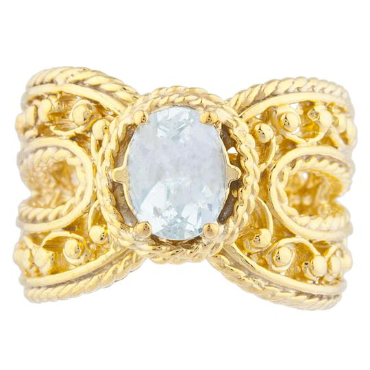Preload https://img-static.tradesy.com/item/23340460/14kt-yellow-gold-plated-genuine-aquamarine-oval-cocktail-ring-0-0-540-540.jpg
