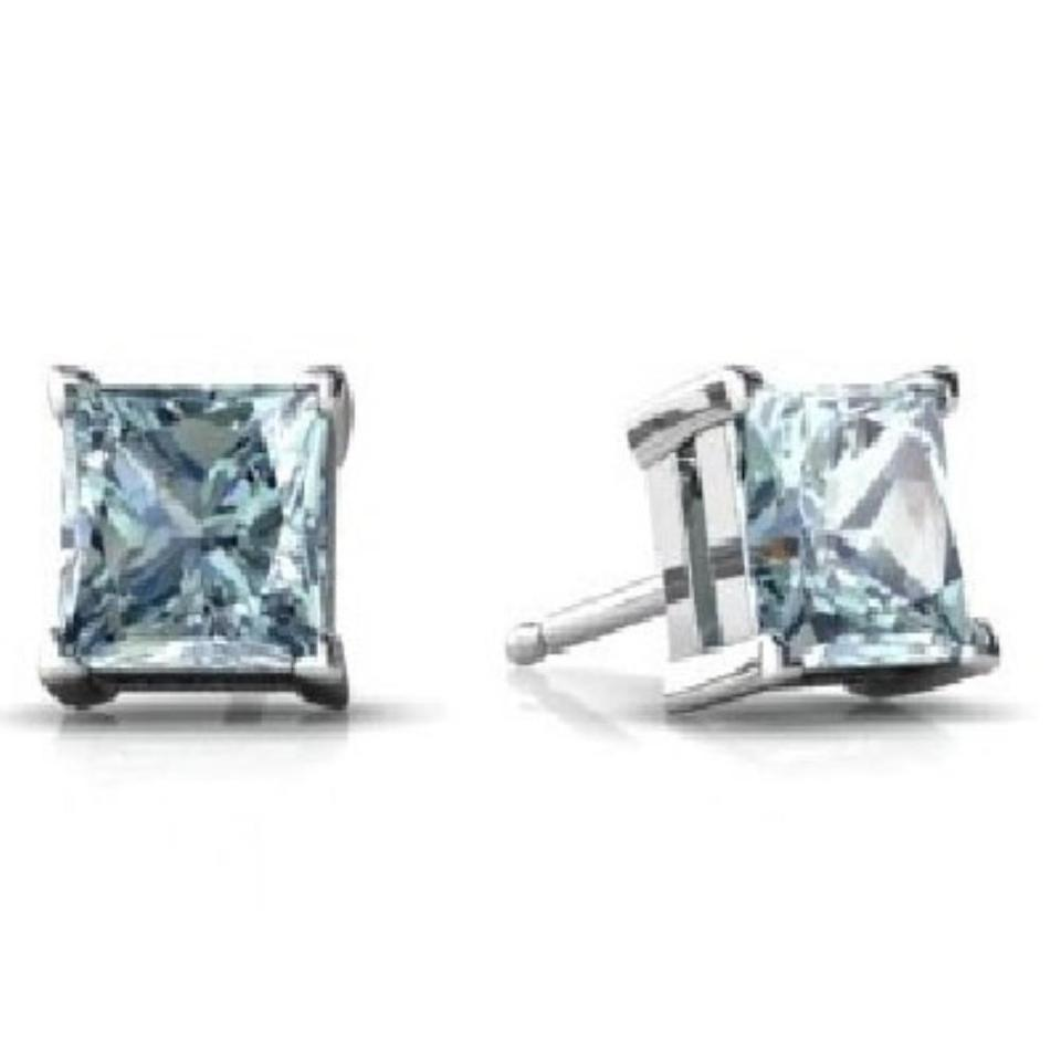 peo gold stud genuine halo products ct white progressive tw earrings aquamarine