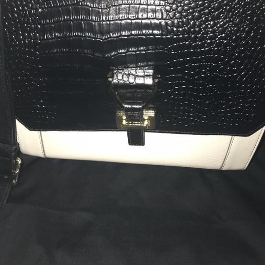 Nine West Satchel in Black/White