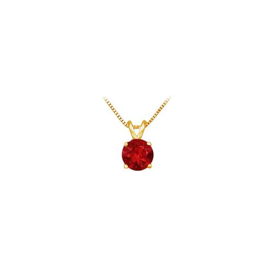 Preload https://item3.tradesy.com/images/red-yellow-gold-14k-prong-set-natural-ruby-solitaire-pendantpendant-neckla-necklace-23340527-0-0.jpg?width=440&height=440