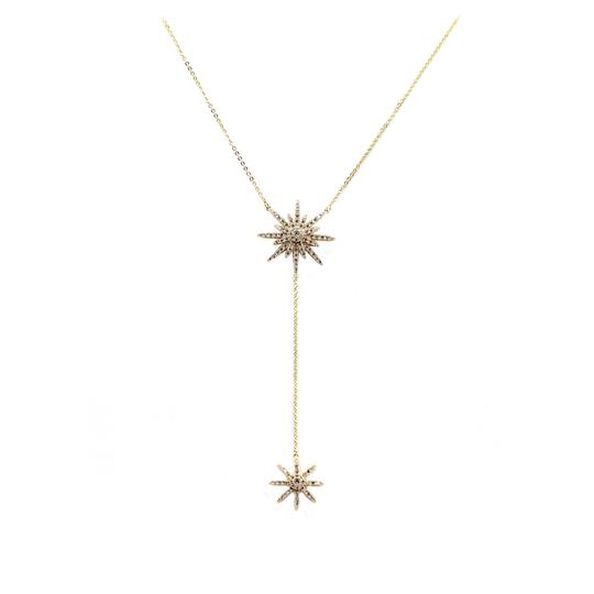 Preload https://item5.tradesy.com/images/gold-925-starfish-crystal-necklace-23340574-0-0.jpg?width=440&height=440