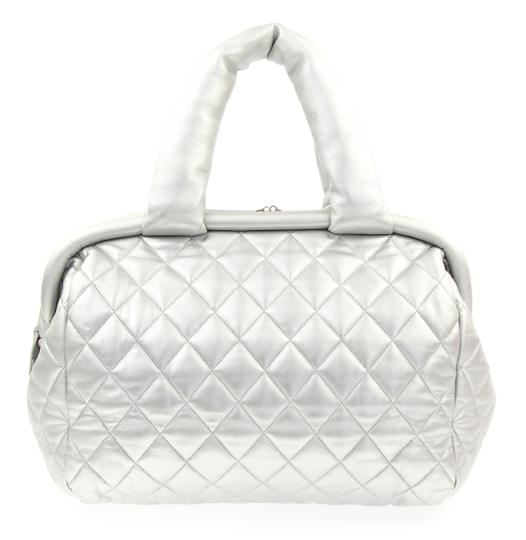 Chanel Coco Cocoon Tote in Silver