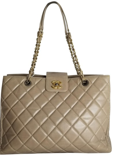 Preload https://item2.tradesy.com/images/chanel-taupe-leather-hobo-bag-23340656-0-2.jpg?width=440&height=440