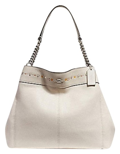 Preload https://item1.tradesy.com/images/coach-lexy-with-floral-tooling-f25894-chalk-white-leather-shoulder-bag-23340660-0-1.jpg?width=440&height=440