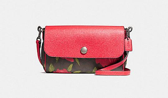 Preload https://item4.tradesy.com/images/coach-ruby-reversible-with-camo-rose-floral-print-f28188-black-brown-red-printed-coated-canvas-cross-23340693-0-0.jpg?width=440&height=440