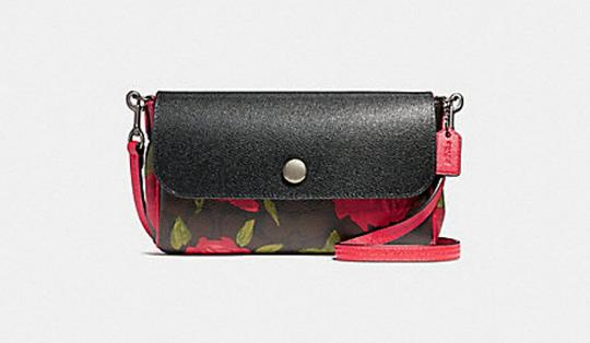 Preload https://item1.tradesy.com/images/coach-ruby-reversible-with-camo-rose-floral-print-f28188-black-brown-red-printed-coated-canvas-cross-23340695-0-0.jpg?width=440&height=440