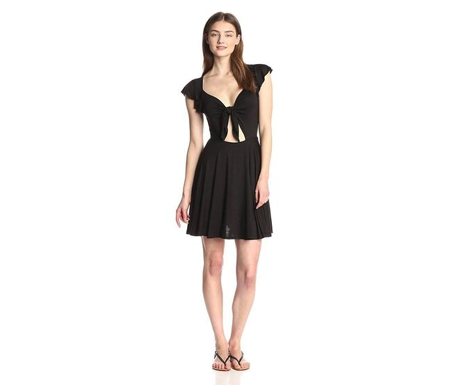 Preload https://item4.tradesy.com/images/bcbgeneration-black-bcbg-women-s-front-tie-short-casual-dress-size-2-xs-23340703-0-0.jpg?width=400&height=650