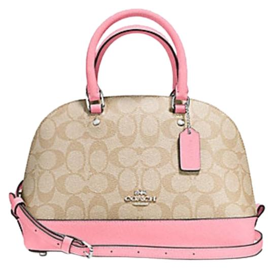 Preload https://item4.tradesy.com/images/coach-sierra-signature-57555-pink-blush-2-leather-satchel-23340723-0-1.jpg?width=440&height=440