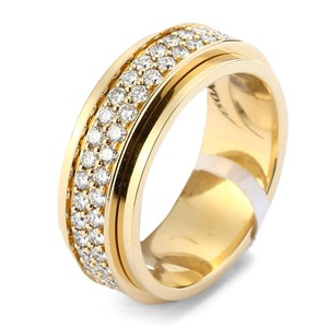 Piaget 18K Yellow Gold Possession Diamonds Ring G34PL300 US6.0