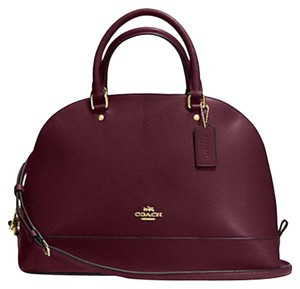 Coach Retired Color Gift Code My Favorite Satchel in red