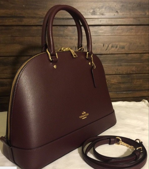 Coach Retired Color Gift Code My Favorite Satchel in OXBLOOD