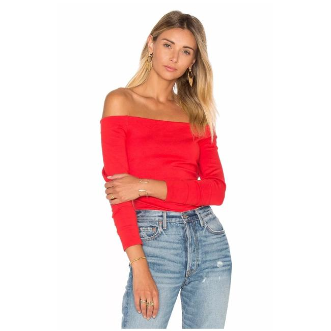 Preload https://img-static.tradesy.com/item/23340785/l-agence-red-cynthia-off-shoulder-blouse-size-12-l-0-0-650-650.jpg