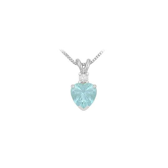 Preload https://item4.tradesy.com/images/blue-white-gold-diamond-and-heart-shaped-aquamarine-solitaire-pendant-14k-1-necklace-23340808-0-0.jpg?width=440&height=440