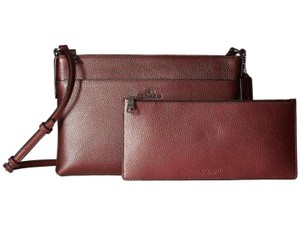 Coach Removable Pouch Cross Body Bag
