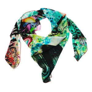 Louis Vuitton Multicolor Cosmic Pop Giant Square Silk Scarf