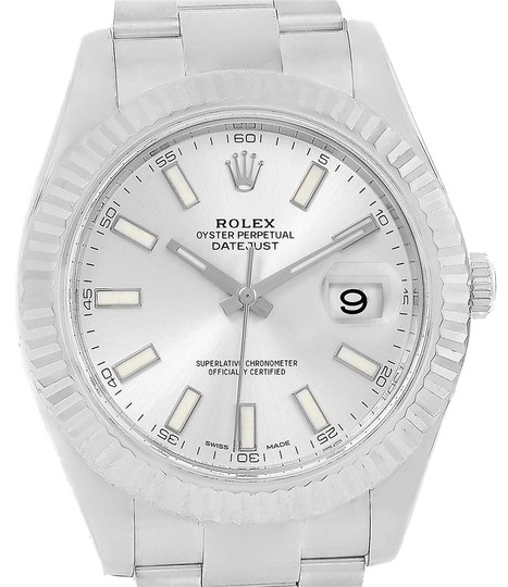 Preload https://item3.tradesy.com/images/rolex-silver-datejust-ii-steel-white-dial-mens-116334-box-watch-23340902-0-2.jpg?width=440&height=440