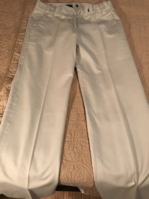 French Connection Khaki/Chino Pants Cream Image 1