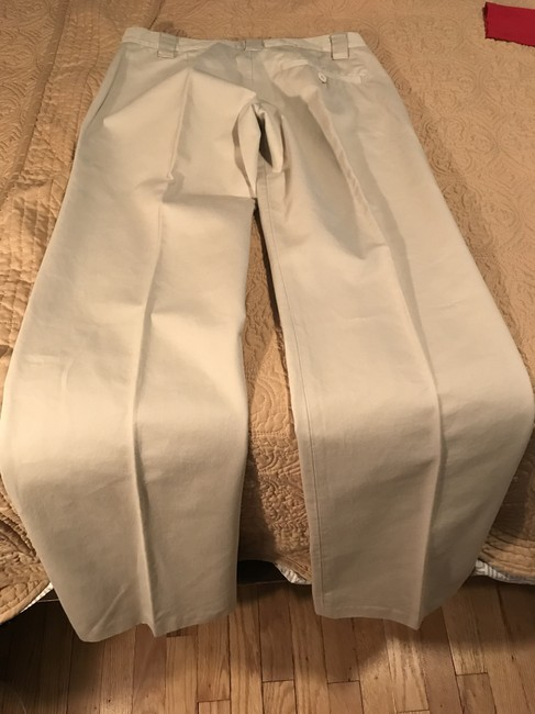 French Connection Khaki/Chino Pants Cream Image 2