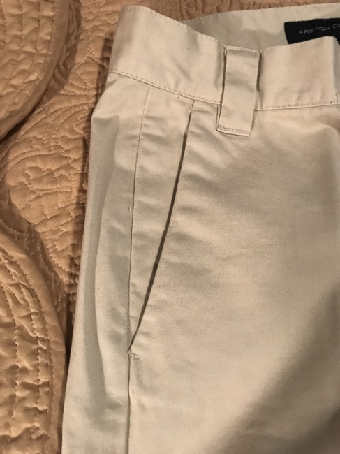 French Connection Khaki/Chino Pants Cream Image 6