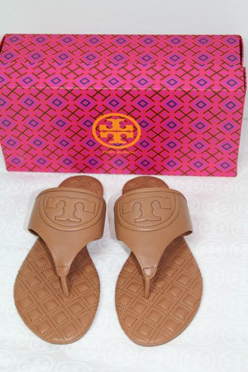 Tory Burch Summer Slides New With Tags Tan Sandals