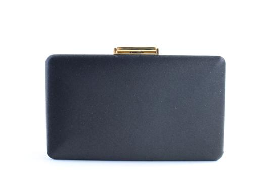 Burberry Prorsum Minaudiere Kisslock Evening Hard Case Black Clutch Image 6