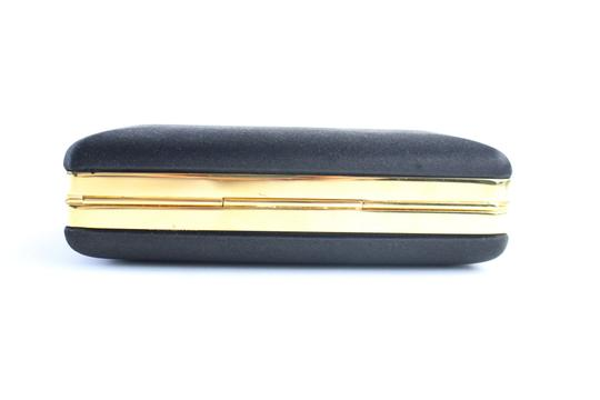 Burberry Prorsum Minaudiere Kisslock Evening Hard Case Black Clutch Image 8