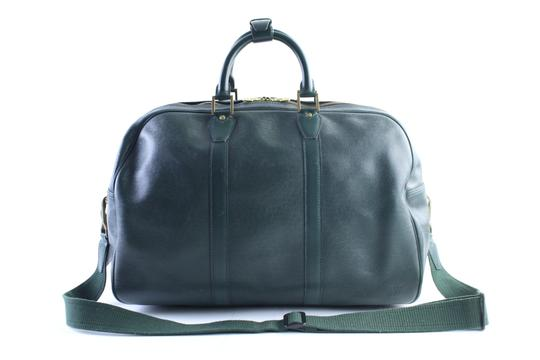 Preload https://item1.tradesy.com/images/louis-vuitton-kendall-2way-10lr0509-epicea-green-taiga-leather-satchel-23340940-0-1.jpg?width=440&height=440