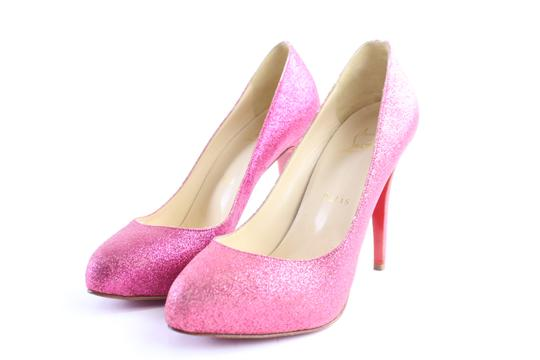 Preload https://img-static.tradesy.com/item/23340954/christian-louboutin-pink-fuschia-fifi-glitter-13clr0509-pumps-size-eu-37-approx-us-7-regular-m-b-0-0-540-540.jpg