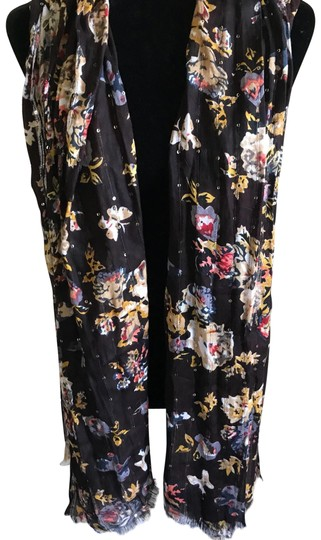Preload https://item5.tradesy.com/images/brown-floral-yellow-red-scarfwrap-23340969-0-1.jpg?width=440&height=440