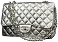Chanel Mirror Lv Mirroir Metallic Maxi Limited Edition Shoulder Bag