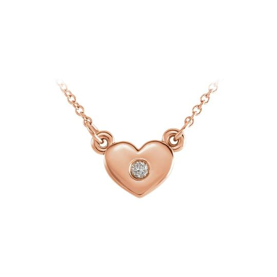 Preload https://item5.tradesy.com/images/white-rose-gold-14k-cubic-zirconia-heart-pendant-necklace-23341004-0-0.jpg?width=440&height=440