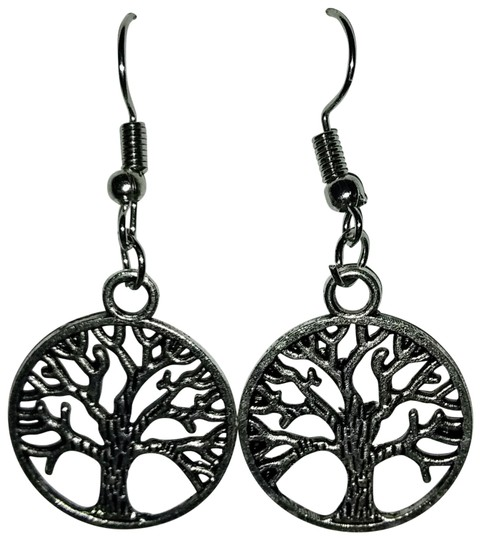 Preload https://img-static.tradesy.com/item/23341005/silver-antique-tree-of-life-dangle-or-drop-earrings-0-1-540-540.jpg