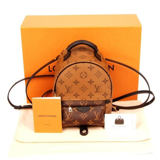 Preload https://item3.tradesy.com/images/louis-vuitton-palm-springs-rare-pm-reverse-6002-brown-leather-backpack-23341007-0-0.jpg?width=440&height=440