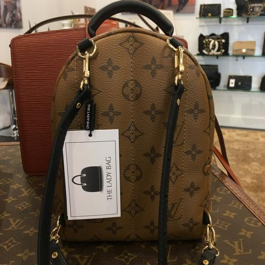 Louis Vuitton Reverse Palm Springs Classic Backpack