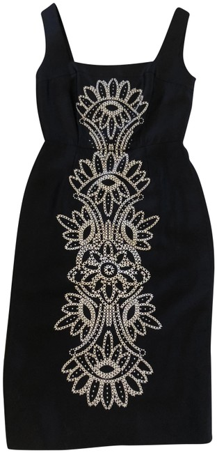 Preload https://item4.tradesy.com/images/tory-burch-navy-mid-length-cocktail-dress-size-2-xs-23341128-0-1.jpg?width=400&height=650
