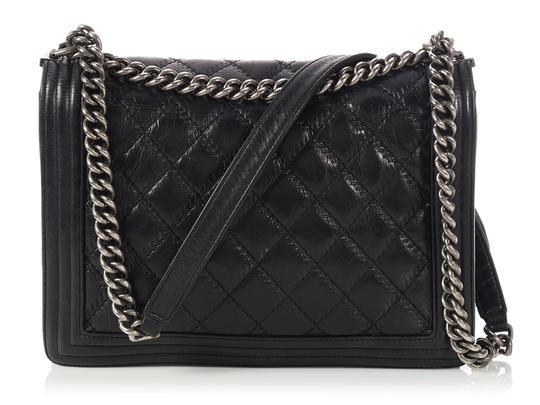 Chanel Embossed Ch.p0312.21 Cross Body Bag