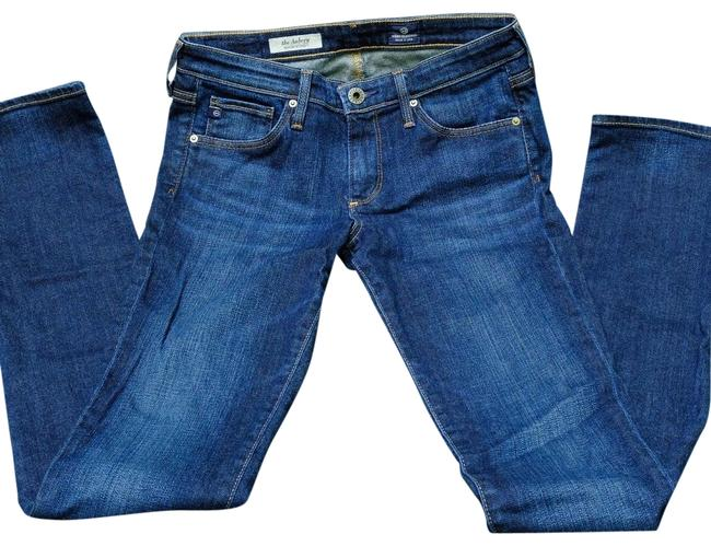 Preload https://item5.tradesy.com/images/ag-dark-wash-rinse-the-aubrey-straight-never-worn-skinny-jeans-size-2-xs-26-23341144-0-1.jpg?width=400&height=650