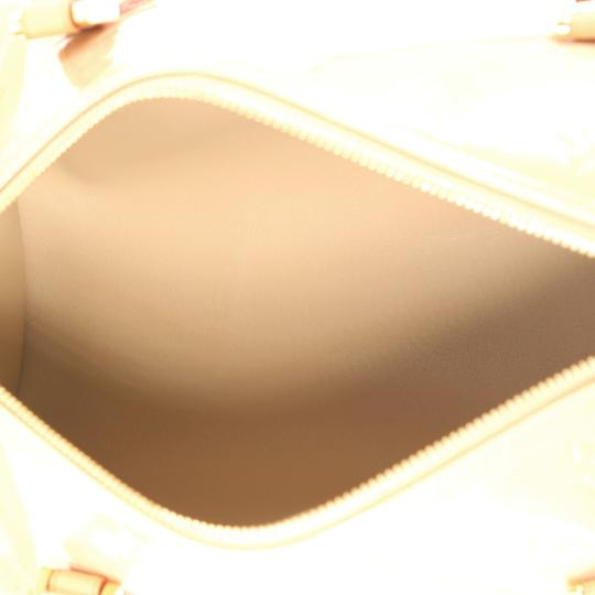 Louis Vuitton Bedford Leather Beige Travel Bag