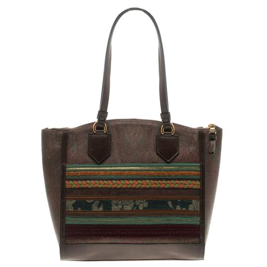 Preload https://item5.tradesy.com/images/etro-multicolor-paisley-printed-brown-leather-and-fabric-tote-23341254-0-0.jpg?width=440&height=440