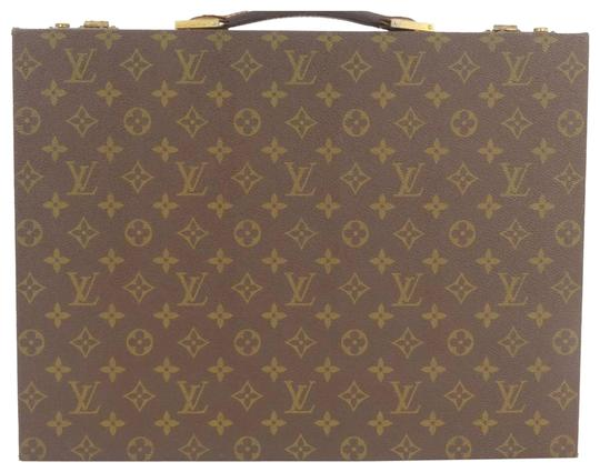 Preload https://item4.tradesy.com/images/louis-vuitton-monogram-attache-brief-case-trunk-suitcase-brown-leather-laptop-bag-23341268-0-1.jpg?width=440&height=440