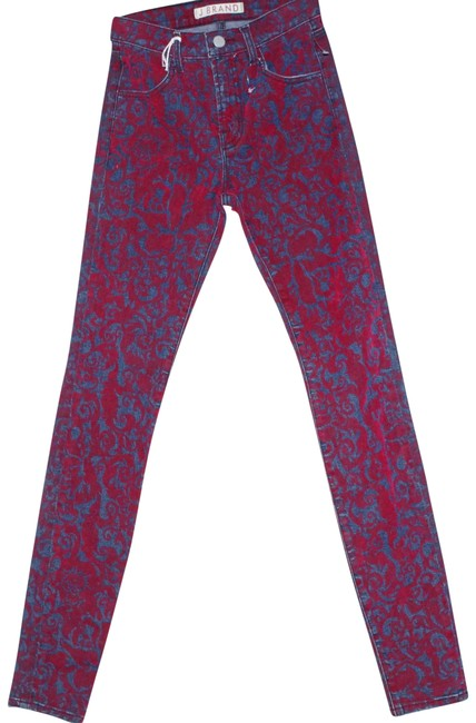 Preload https://item5.tradesy.com/images/j-brand-blue-red-distressed-floral-print-cotton-stretch-velvet-women-s-denim-pant-skinny-jeans-size--23341299-0-1.jpg?width=400&height=650