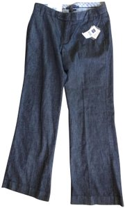 Gap Casual Workplace Classic Trouser/Wide Leg Jeans-Dark Rinse