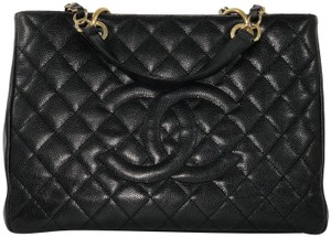 Chanel Shopping Tote Shopping Tote Caviar Leather Tote Shoulder Bag