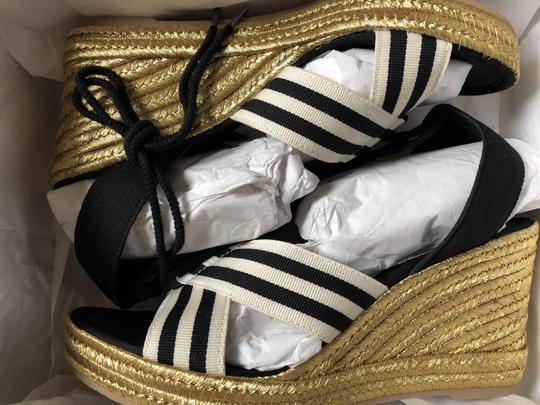 Marc Jacobs New Espadrille Black And White Tie Up Ankle Ties CLEARANCE--NIB- Sandals Image 10