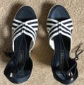 Marc Jacobs New Espadrille Black And White Tie Up Ankle Ties CLEARANCE--NIB- Sandals Image 6