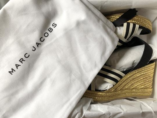Marc Jacobs New Espadrille Black And White Tie Up Ankle Ties CLEARANCE--NIB- Sandals Image 9