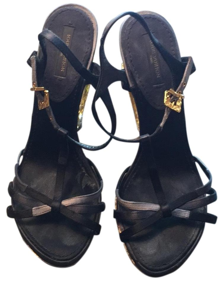 6e62c27f0e81 Louis Vuitton Lv Fashion Sandals Size EU 37.5 (Approx. US 7.5 ...