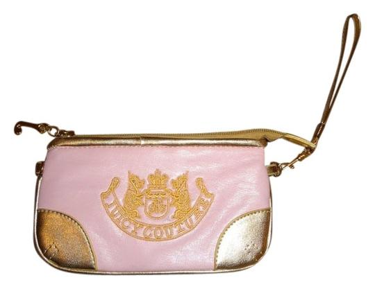 Preload https://item1.tradesy.com/images/juicy-couture-pink-and-gold-leather-wristlet-2334220-0-0.jpg?width=440&height=440